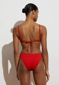 OYSHO - Haut de bikini - red - 2