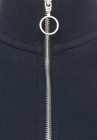 Marc O'Polo DENIM - LONGSLEEVE WITH ZIPPER SPECIAL COLLAR - Long sleeved top - scandinavian blue - 5