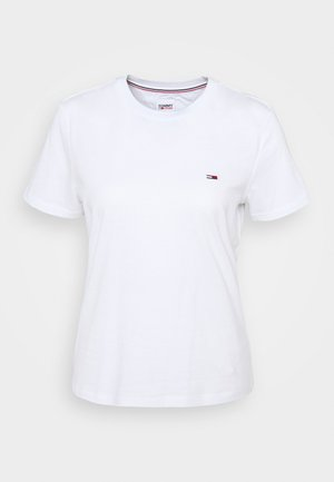 REGULAR C NECK - Basic T-shirt - white