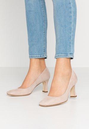 Classic heels - teddy/tacco intinta
