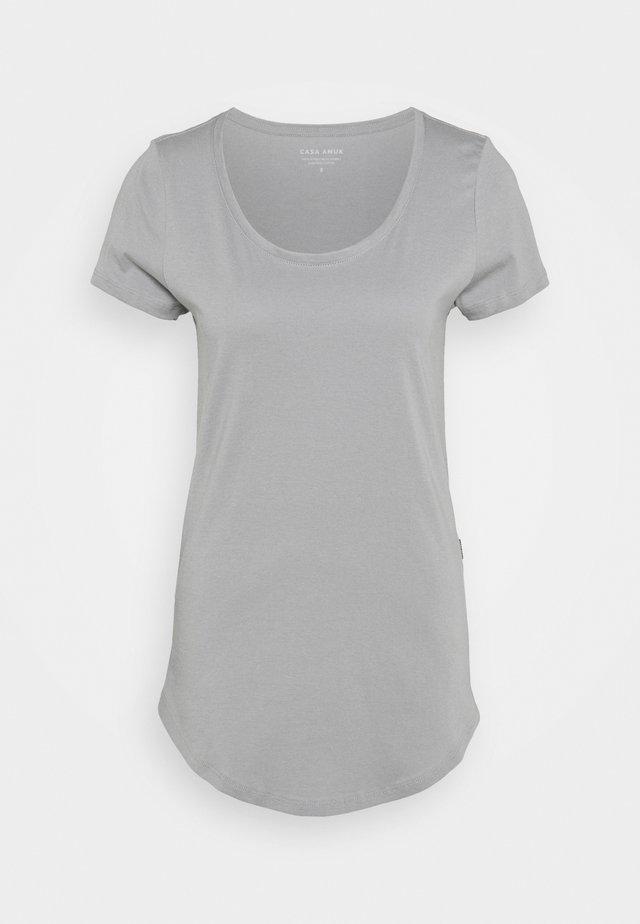 TALL TEE - T-shirt - bas - grey