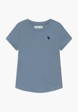 CURVED - Basic T-shirt - faded denim