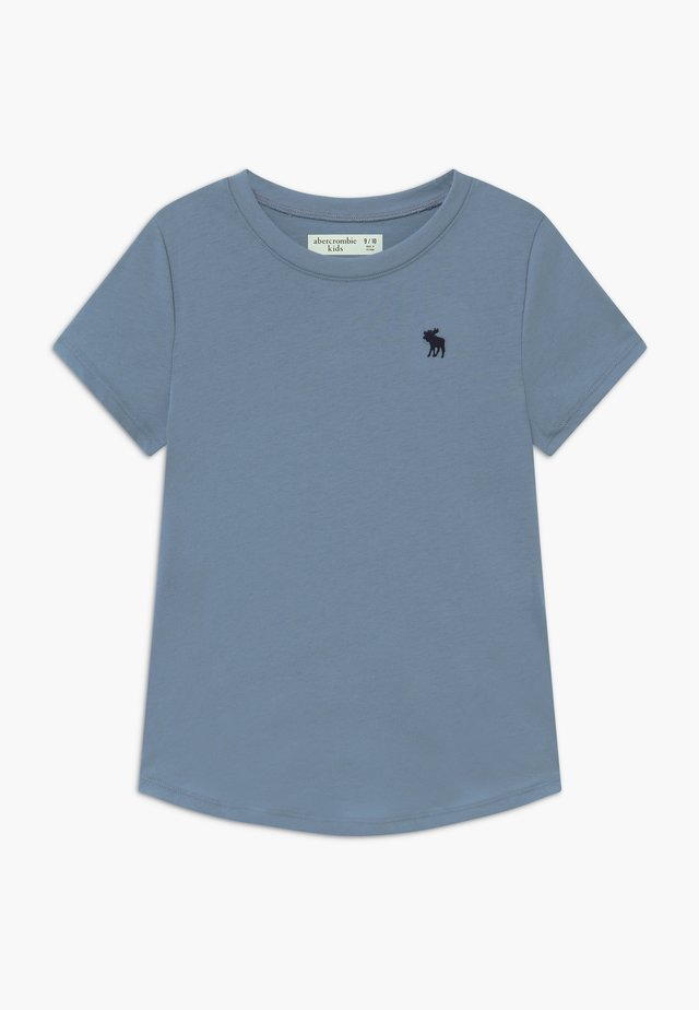 CURVED - T-shirt basic - faded denim