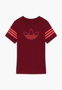adidas Originals - OUTLINE - Triko s potiskem - dark red - 0