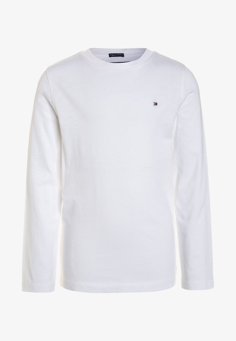 Tommy Hilfiger - BOYS BASIC  - Long sleeved top - bright white