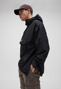 PULL&BEAR - Summer jacket - black - 3