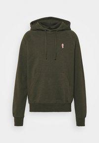 HOODIE - Sweatshirt - army melange