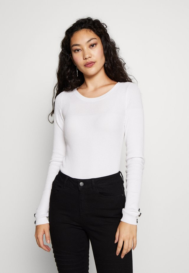 OBJNINA - Pullover - white