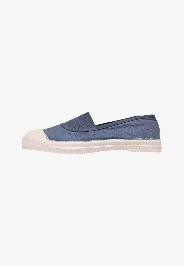 ELASTIC - Slip-ons - blue denim