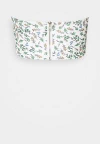 Missguided - HIGH BUST POINT CORSET TOP DITSY FLORAL - Corpetto - white - 1
