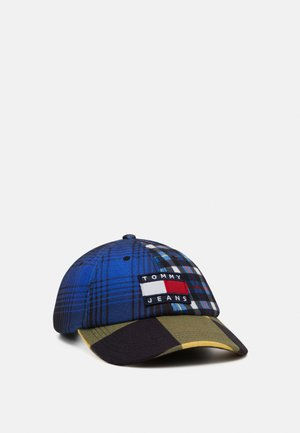 HERITAGE CHECK - Cap - blue