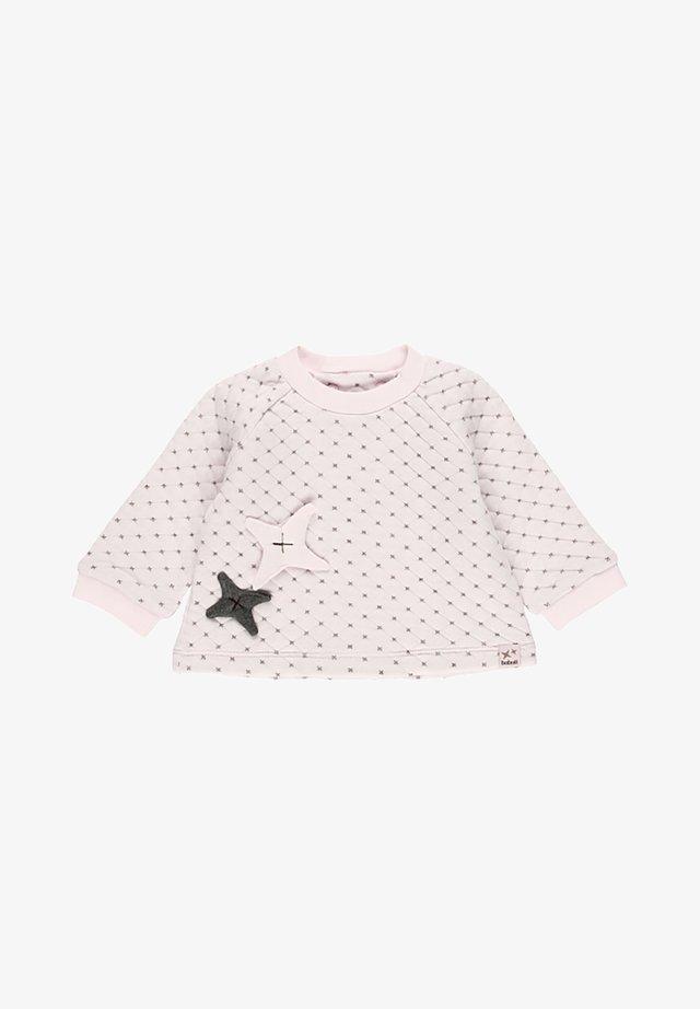 SWEAT EN TOILE  DOUBLE FACE POUR BÉBÉ - Sweater - light pink