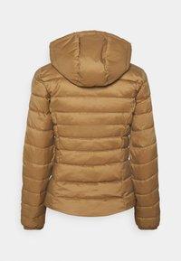 ONLY - ONLNEWTAHOE CONTRAST HOOD JACKET  - Light jacket - toasted coconut/pumice stone - 6