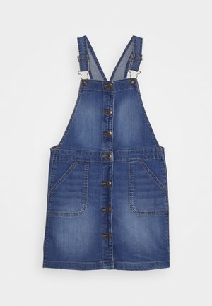 FRONT SNAP - Denim dress - denim
