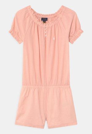 Jumpsuit - pink/cream