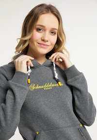 Schmuddelwedda - RÜGEN - Hoodie - grau melange - 3