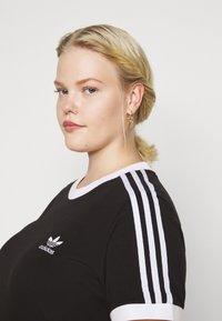 adidas Originals - TEE - Print T-shirt - black/white - 4
