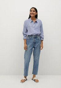 Mango - LEONE - Button-down blouse - blau - 1
