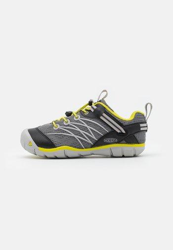 CHANDLER CNX UNISEX - Hiking shoes - steel grey/evening primrose