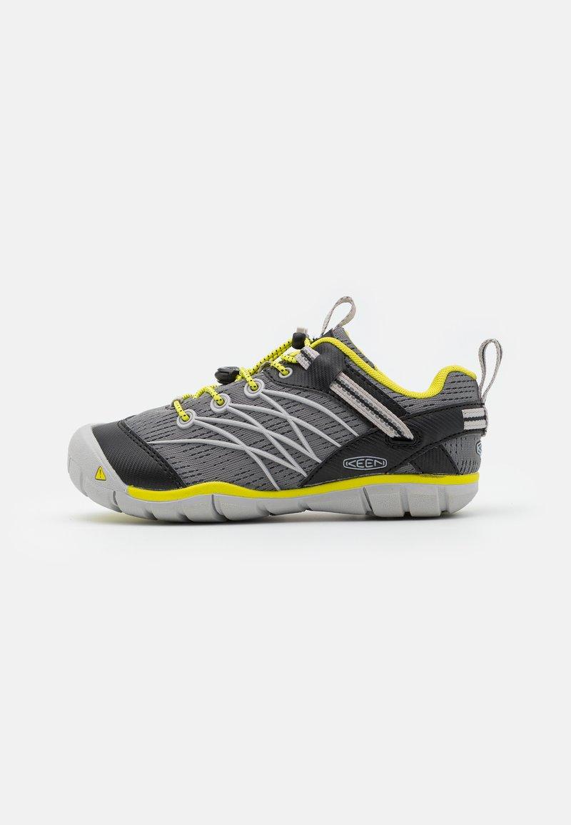 Keen - CHANDLER CNX UNISEX - Hiking shoes - steel grey/evening primrose