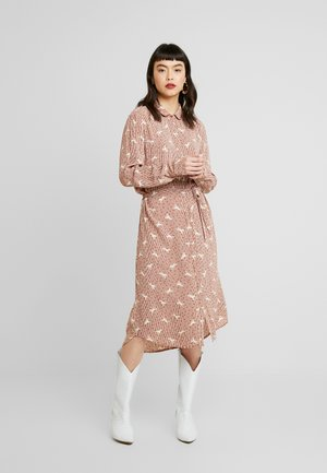 DRESS ON - Shirt dress - bread