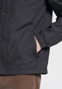 Kaotiko - COACH JACKET - Summer jacket - black - 5