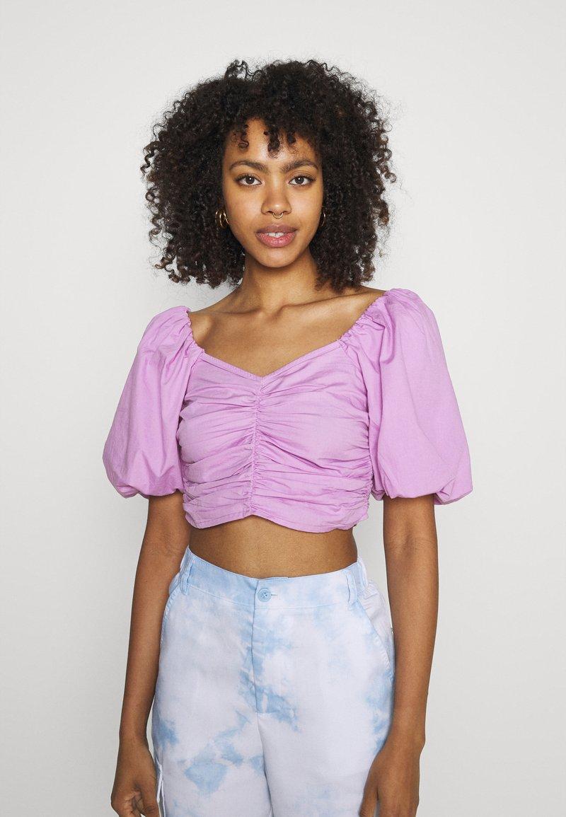 Gina Tricot - LEAH - Print T-shirt - light purple
