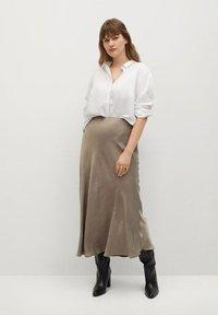 Violeta by Mango - Maxi skirt - copper - 1