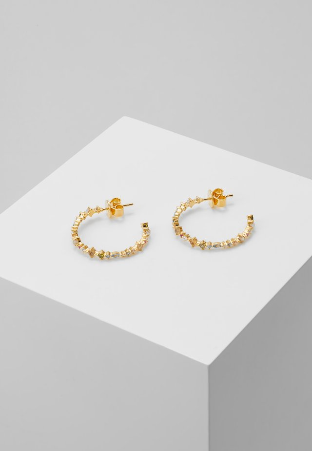 HALO EARRINGS - Orecchini - gold-coloured
