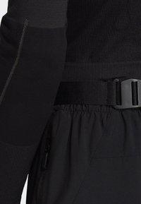 adidas Performance - HIKE TECHNICAL HIKING PANTS - Joggebukse - black - 3