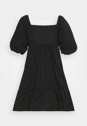 ERYN MINI DRESS - Day dress - plain black