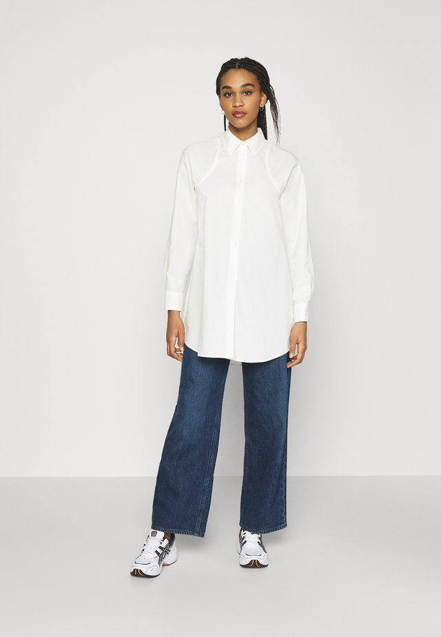 GRETA POPLIN  - Blusa - off white