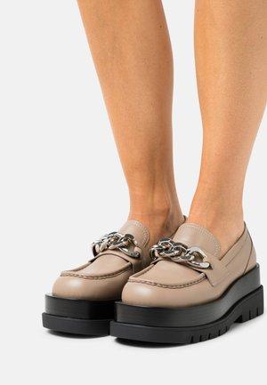 RECESS - Classic heels - beige