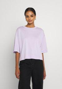 EDITED - SILA - Basic T-shirt - pastel lilac - 0