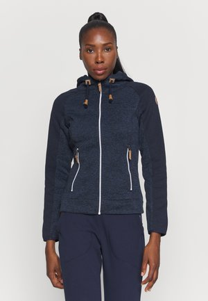 AUBURN - Fleece jacket - dark blue