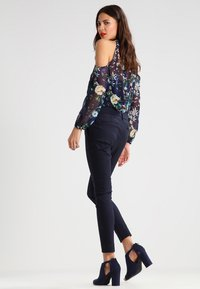 Mos Mosh - ABBEY NIGHT - Trousers - navy - 3