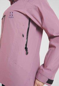 Haglöfs - NIVA JACKET WOMEN - Snowboard jacket - purple milk - 8