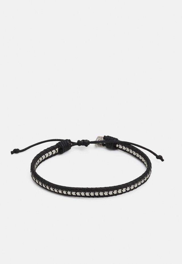 BOX CHAIN BRACELET - Bracciale - black