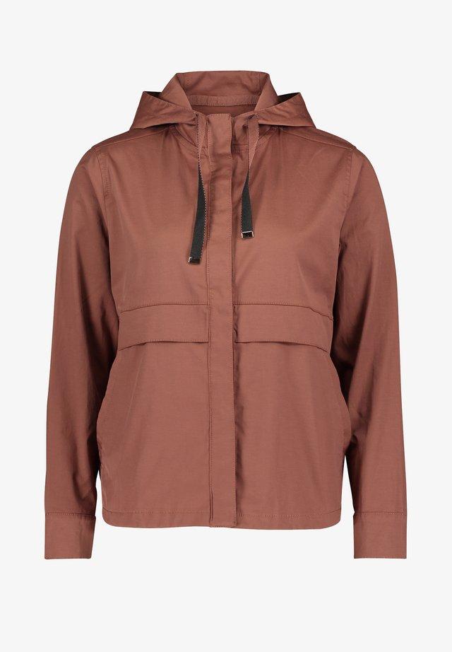 Outdoor jacket - marron