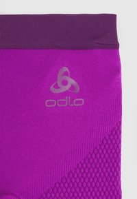 ODLO - BOTTOM PANT PERFORMANCE WARM KIDS UNISEX - Base layer - purple cactus flower charisma - 3