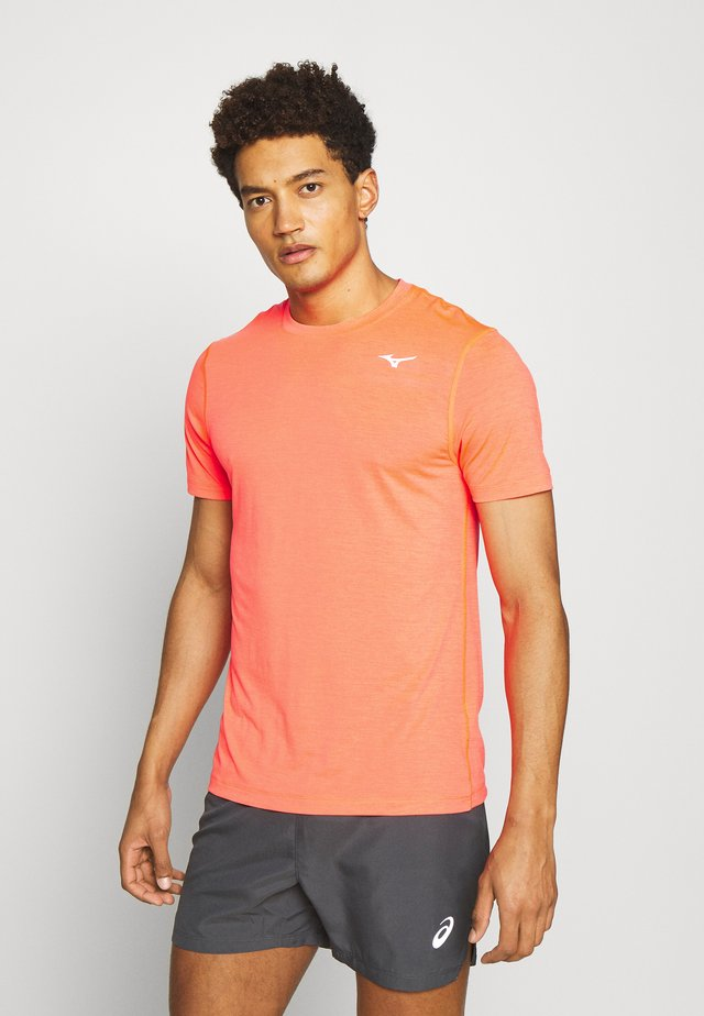 IMPULSE CORE TEE - T-shirt basic - ignition red