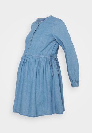 MLSTINA  WOVEN TUNIC - Pusero - light blue/chambray