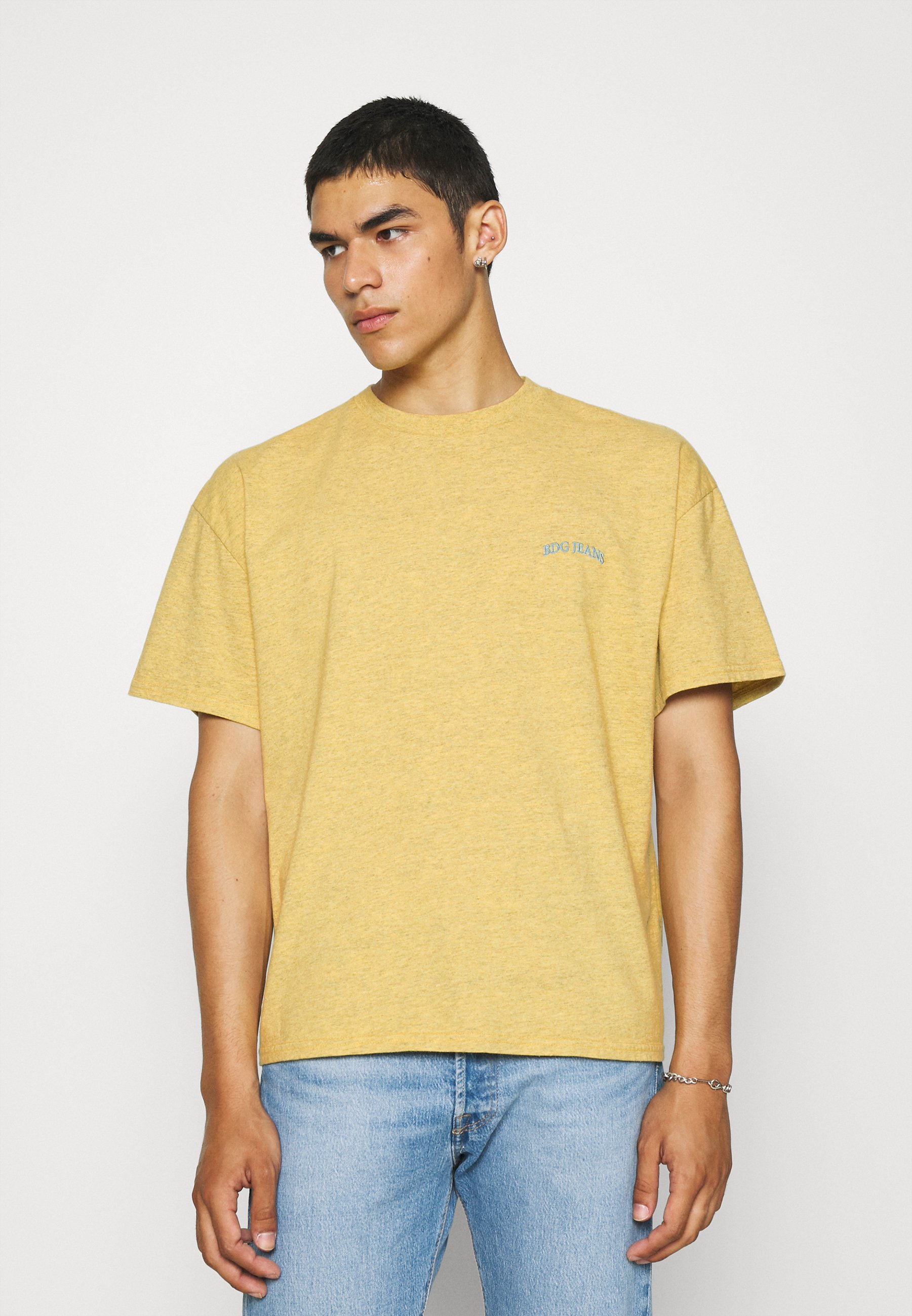 Homme MARLED LOGO EMBROIDERED TEE UNISEX - T-shirt basique