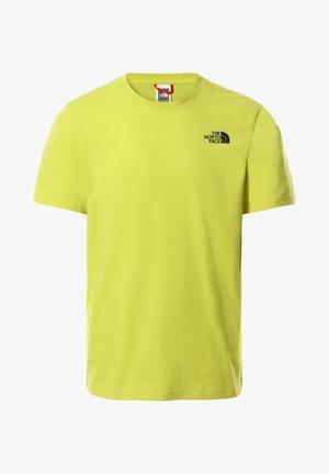 SLICE TEE - Print T-shirt - sphrsprggrn/tnfblk/tnfwht