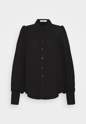PUFFY SLEEVE BLOUSE - Blouse - black