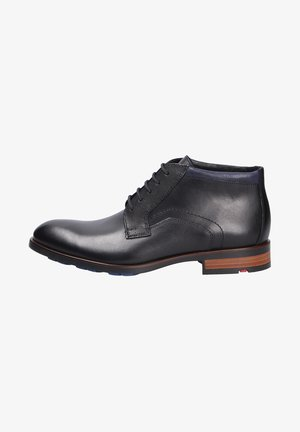 Smart lace-ups - schwarzmidnight