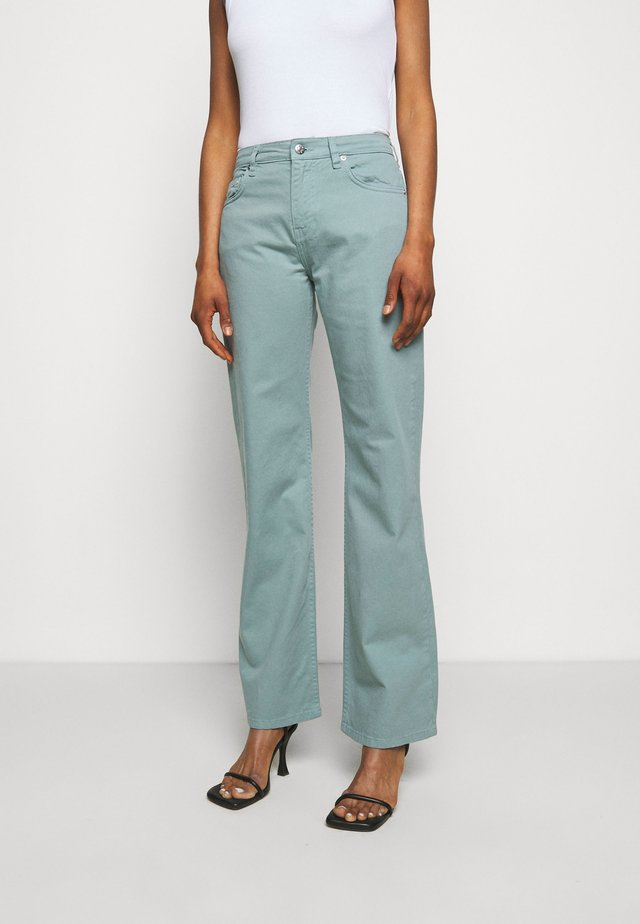 Jeans bootcut - sage green
