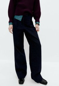 Uterqüe - Bootcut jeans - blue - 0