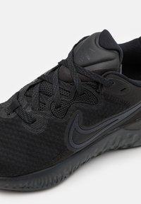 Nike Performance - RENEW RUN 2 - Nøytrale løpesko - black/anthracite - 5