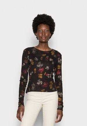 LONGSLEEVE MICKEY - Long sleeved top - black